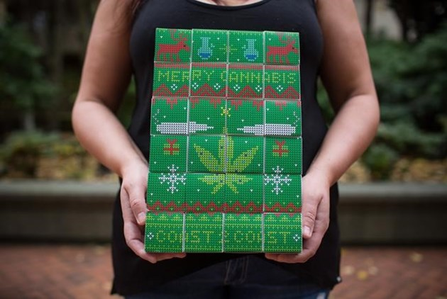 Sales soar for marijuana advent calendars as health experts issue warning