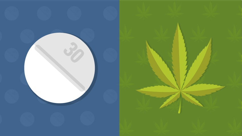 Places with legal marijuana issue fewer opioid prescriptions, large studies find